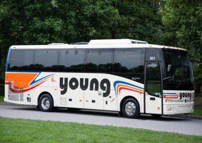 30-passenger minicoach